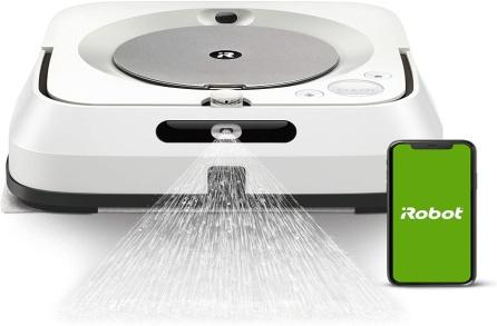 Amazon.com - iRobot Braava Jet M6 (6110) Ultimate Robot Mop- Wi-Fi  Connected, Precision Jet Spray, Smart Mapping, Works with Alexa, Ideal for  Multiple Rooms, Recharges and Resumes -