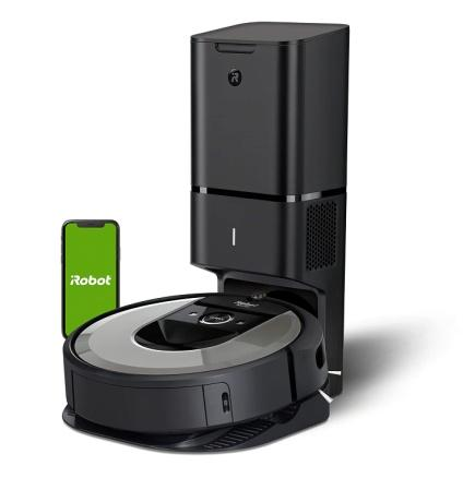 iRobot Roomba i7+ (i7556) WiFi Connected Robot Vacuum with Automatic Dirt  Disposal and Power-Lifting Suction and Dual Multi-Surface Rubber Brushes -  Ideal for Pets - Learns, Maps, and Adapts to Home: Amazon.in: