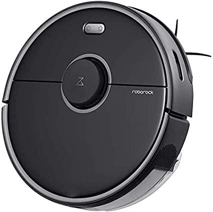 Roborock S5 MAX Robot Vacuum and Mop, Robotic Vacuum Cleaner with E-Tank,  No-mop Zones, Lidar Navigation, Selective Room Cleaning, Super Powerful  Suction (BLACK): Amazon.in: Home & Kitchen